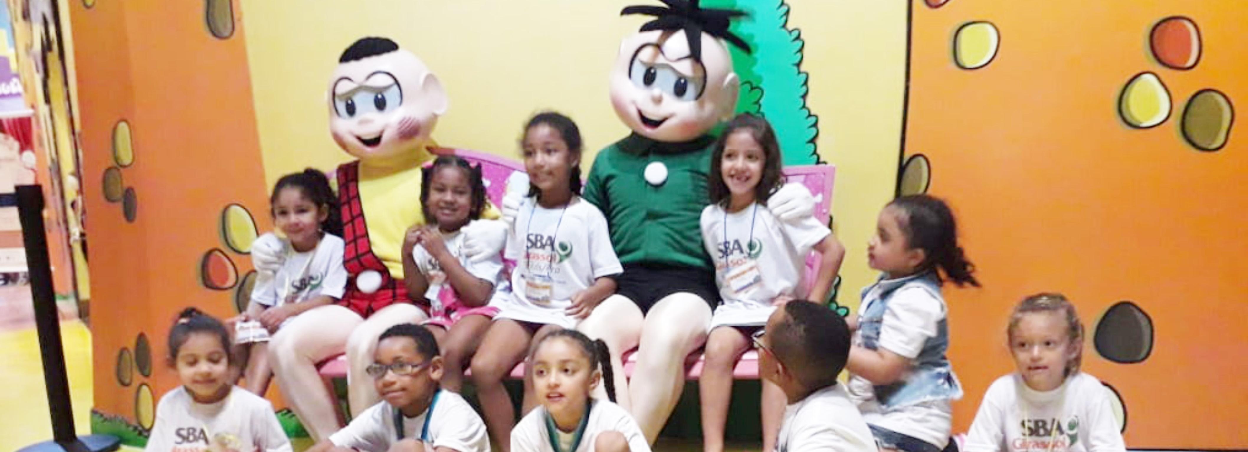 Passeio ao Parque da Mônica – SBA Girassol Kids